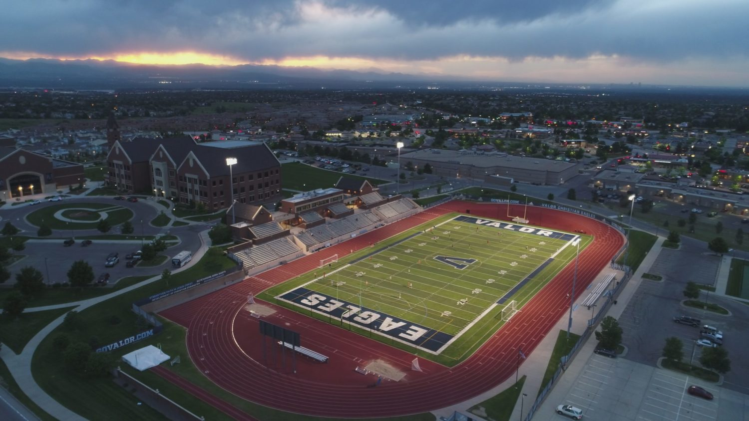 Valor Athletics and fields