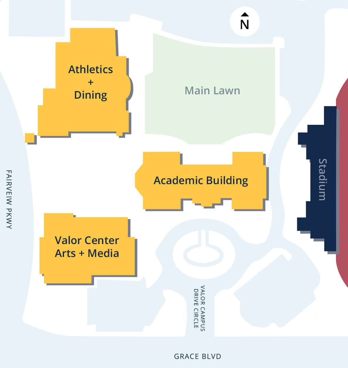 Valor High School Campus Map